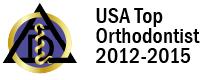 USA Top Orthodontist 2012-2015